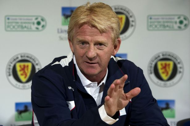 New Scotland manager Gordon Strachan