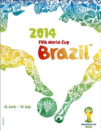 Brazil 2014 official poster hhmmmm