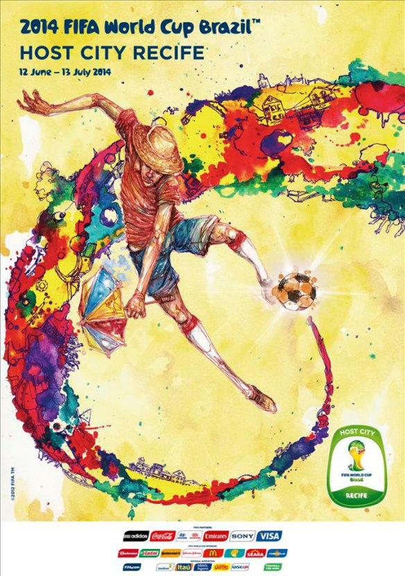 World Cup Countdown : 3 months to Recife