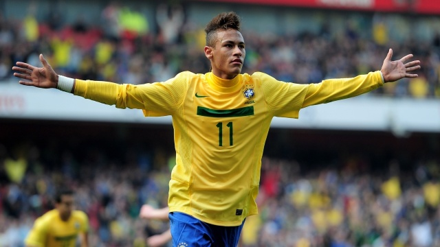 All the pressure is on Neymar